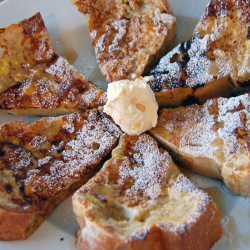 BREAKFAST: Cinnamon French Toast