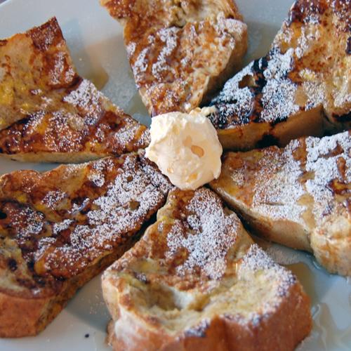 BREAKFAST: Cinnamon French Toast