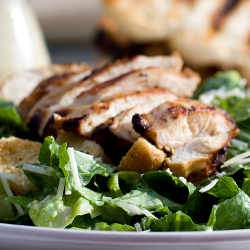 LUNCH: Grilled Chicken Caesar Salad